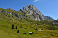 Dolomite alps; South Tyrol; Italy; natural preserve puez-geisler;