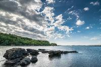 Rocky coast near fiscavaig