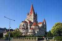 Saint Francis of Assisi Church in Vienna