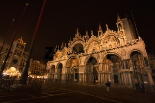 Night Venice - Cathedral of San Marco
