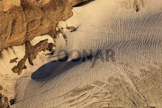 Detail of the Diablerets glacier