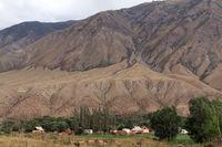 Village Kyzyl Oi, Kökomeren Valley, Cental Kyrgyzstan
