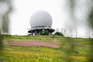 ehemalige Radarkuppel - Radom Wasserkuppe Rhön