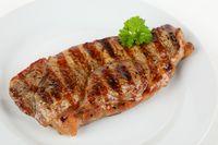 grilled rumpsteak