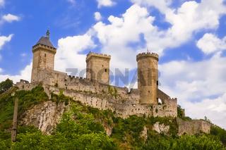 Burg Foix, Frankreich