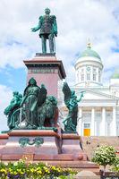 Alexander II Monument in Helsinki