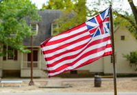 Grand Union Flag in Williamsburg, VA