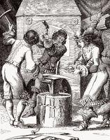 forge, 17th century