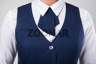 Service woman uniform