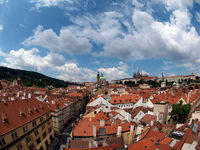 Panoramic view. Prague, Czech Republic