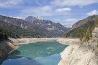 Lago di Sauris in Friuli