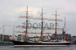 Der Großsegler Sedov auf dem Hamburger Hafengeburtstag 2009
