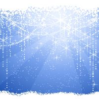 Abstract blue Christmas / winter background
