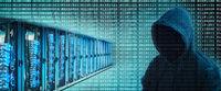 Server racks and hacker