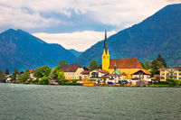 Rottach Egern on Tegernsee architecture and nature view