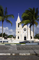 Church of São Boaventura, Canavieiras, Bahia, Brazil, South America
