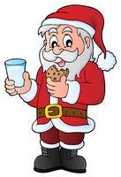 Santa Claus breakfast theme 1