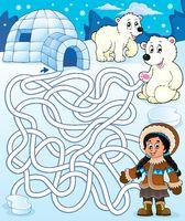 Maze 4 with arctic theme 1