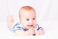 First baby teeth