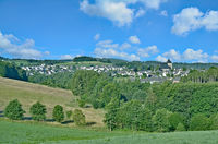 Village of Frielingsdorf near Lindlar in Bergisches Land,North Rhine westphalia,Germany