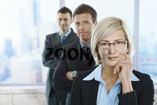 Portrait of confident professionals
