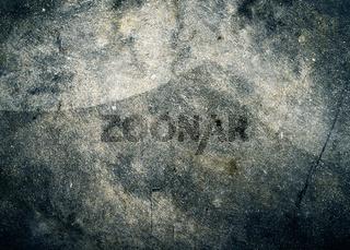 Cement floor texture