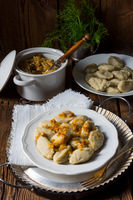 silesian gray potato dumplings