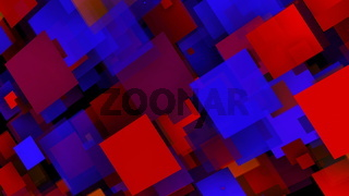 Abstract background with colorful rectangles