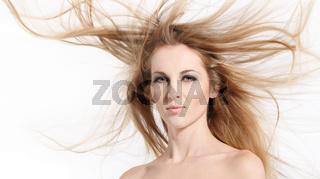 Golden Hair Beauty