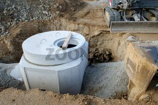 Baustelle - Rohre