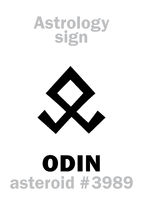 Astrology: asteroid ODIN