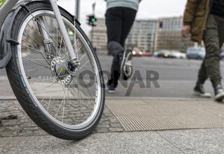 Rad in der Stadt