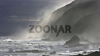Froth at Storms River Mouth