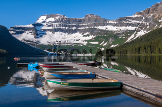 Cameron Lake in Waterton Lakes National Park, Canada