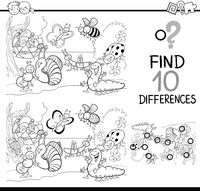 game of differences for coloring