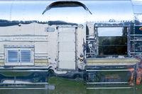 Detail of a classic Caravan