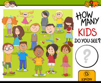 how many kids activity game