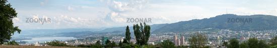 City of Zurich in Switzerland