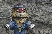 Hydrant in vintage look