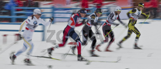 Skilanglauf Frauen - Typical