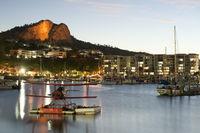 Marina in Townsville, Queensland, Australia