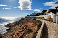 Promenade of Cabo Roig. Costa Blanca. Spain
