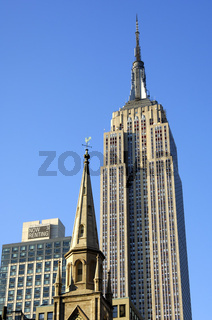 Kirchturmspitze, Empire State Building, New York