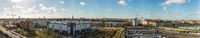 Berlin City Panorama bei Tag mit Fernsehturm