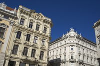 Vienna - Baroque facades on Freyung