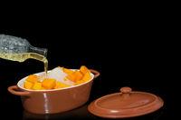 Cooking sweet pumpkin