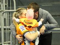 Estavana Polman and Rafael van der Vaart