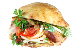 Döner Kebab.
