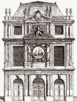 Le Pavillon des Drapiers et Bonnetiers, hall of clothiers, Paris, France, 17th century