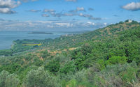 Lake Trasimeno in Umbria,Italy
